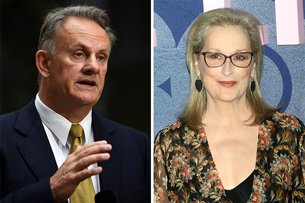 Mark Latham defends Meryl Streep's 'toxic masculinity' comments