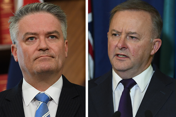 Article image for Government hoping Labor will pass tax cuts, says Mathias Cormann