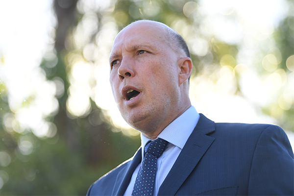 'We're talking about highly classified documents': Peter Dutton insists AFP raids don't undermine press freedom