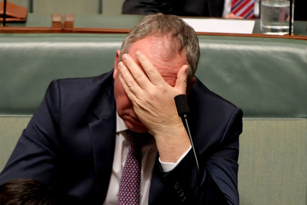 'It's not that I'm skint…': Barnaby Joyce insists he's not crying poor on $211,000 a year