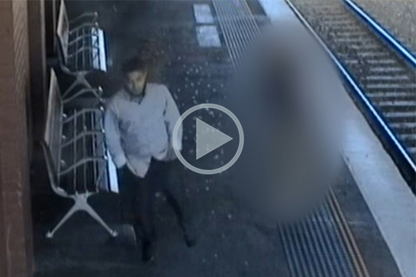 Article image for CCTV footage released of man who allegedly raped 15yo girl