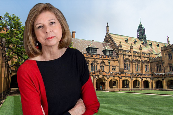 Bettina Arndt applauds Sydney Uni's suspension of student activist