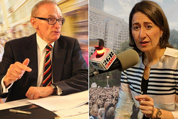 Bob Carr hits back at slur from Gladys Berejiklian