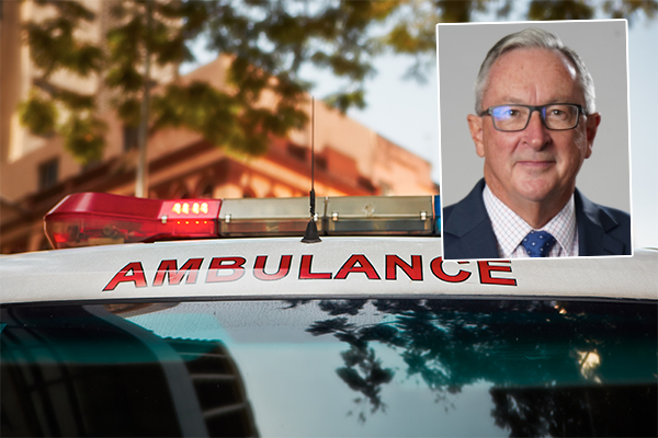 'Don't go in': Brad Hazzard's solution to paramedics' security concerns