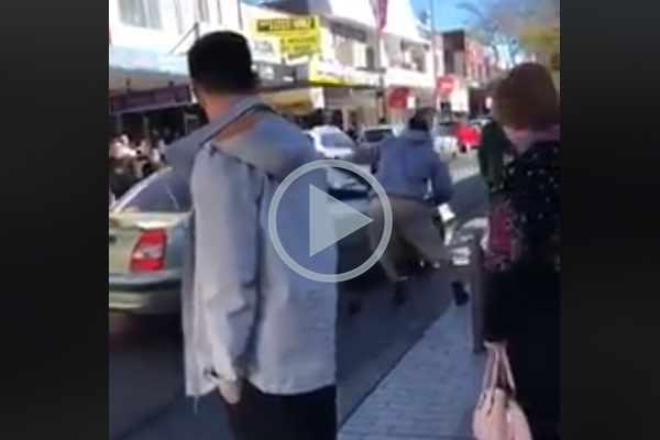 WATCH | Horror road rage attack caught on camera