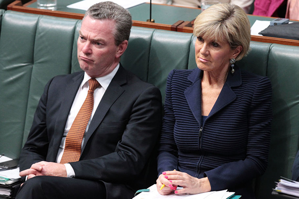 Article image for Christopher Pyne and Julie Bishop the subject of ministerial standards inquiry