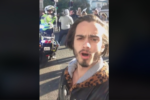 Article image for Extinction Rebellion at it again, causing traffic chaos