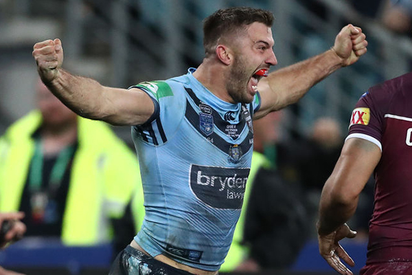 Article image for BACK TO BACK | NSW downs QLD in thrilling State of Origin decider