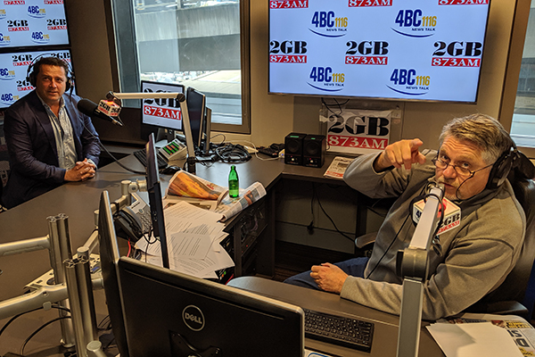 Article image for WATCH   Ray Hadley gives Karl Stefanovic some hilarious advice ahead of hosting debut