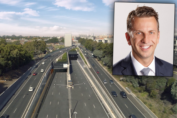 Article image for Minister defends toll cost ahead of M4 tunnel opening