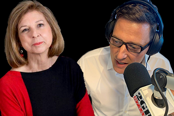 Merrick Watts clashes with anti-feminist Bettina Arndt on suicide prevention