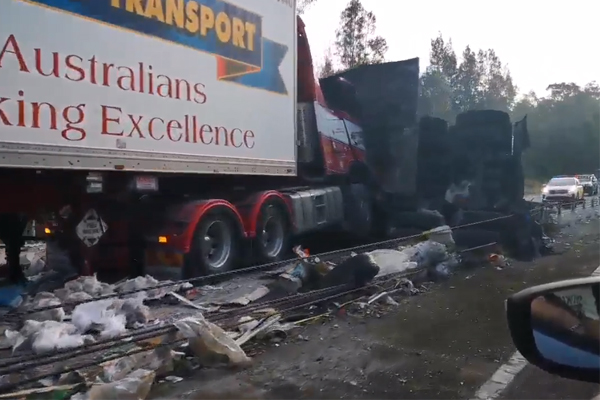 Truck driver killed in Pacific Highway carnage