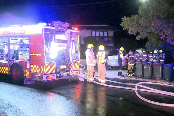 Article image for Family of five escape burning home at North Bondi