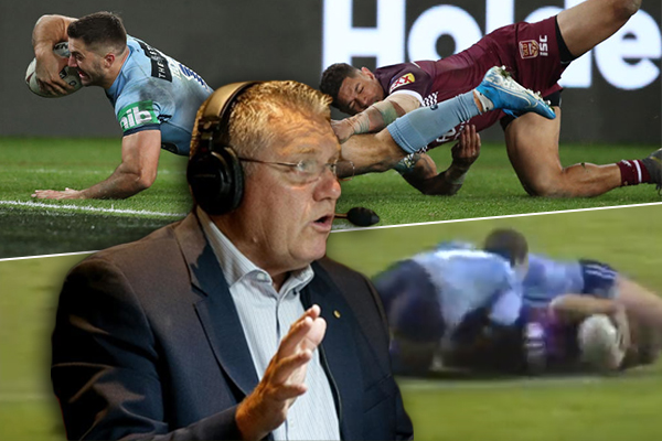 Article image for The moment Ray Hadley predicted James Tedesco's miracle try