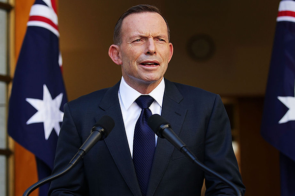 Calls for statue of Tony Abbott to be erected