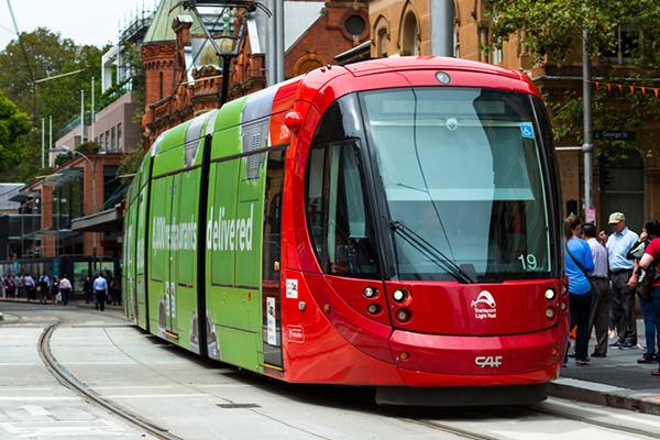 Trams aim to make Sydney 'pedestrian-friendly'