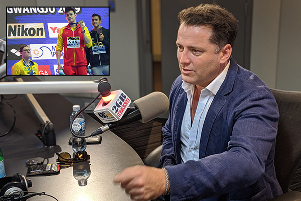 Karl Stefanovic gives it to 'arrogant, up himself' drug cheat Sun Yang