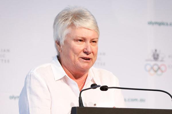 Article image for 'I would've bloody done it myself!': Raelene Boyle praises Mack Horton