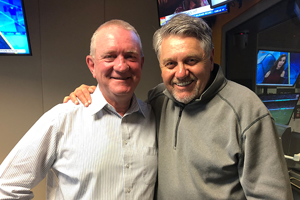 Article image for Why Ray Hadley hugged this man on behalf of all NSW