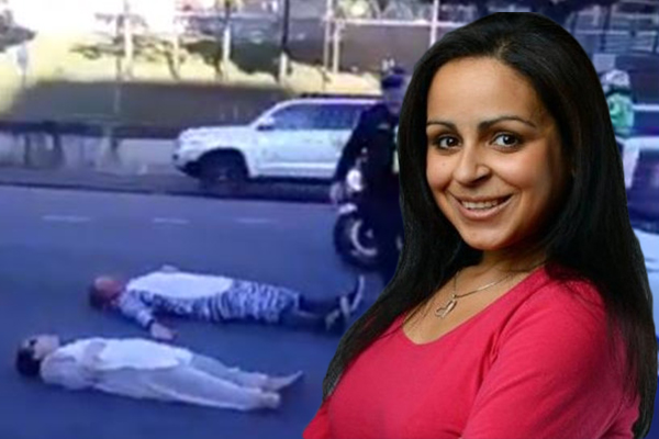 Article image for Rita Panahi slams 'fool' who compared superglue protesters to Anzac veterans