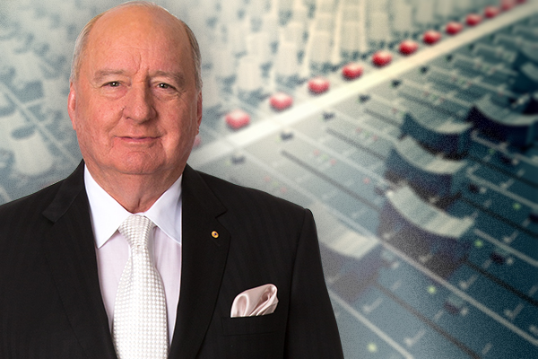 Alan Jones makes a rare comment on the radio ratings