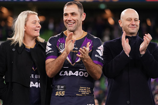 Alan Jones commends NRL's $15,000 gift to Cameron Smith's wife