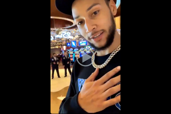 Ben Simmons responds to claims he lied about being denied entry to casino