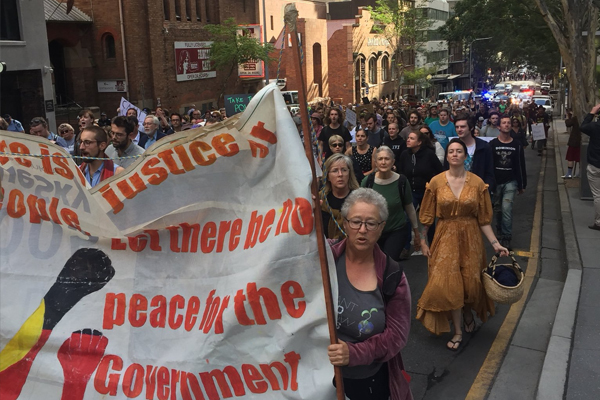 Brisbane CBD 'held to ransom' by 'extremist' protesters… again