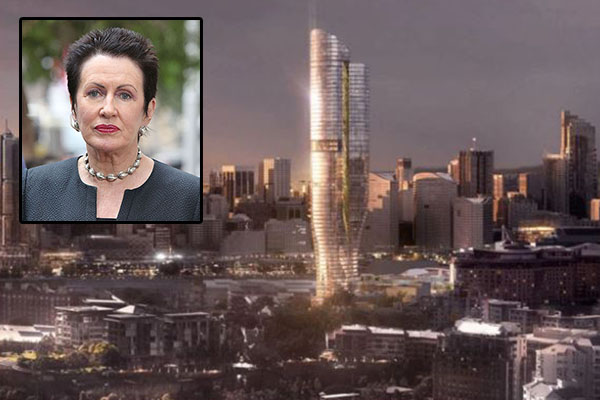 'Outrageous waste': Clover Moore spends ratepayers' money to oppose Pyrmont tower