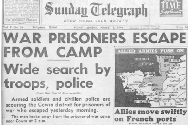 Article image for Fascinating call from WWII veteran who served at the 'Cowra Breakout'