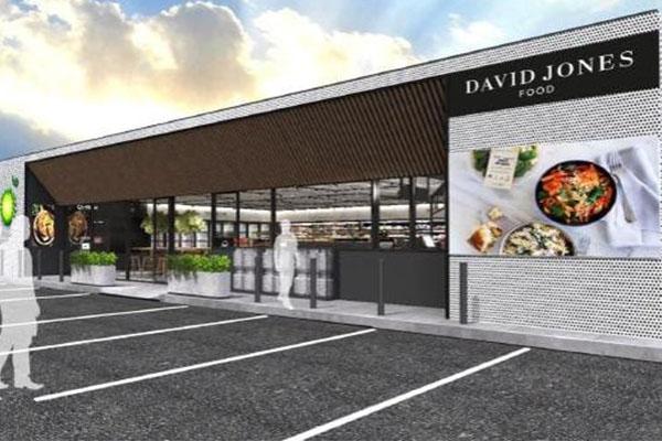David Jones brings gourmet meals to BP petrol stations