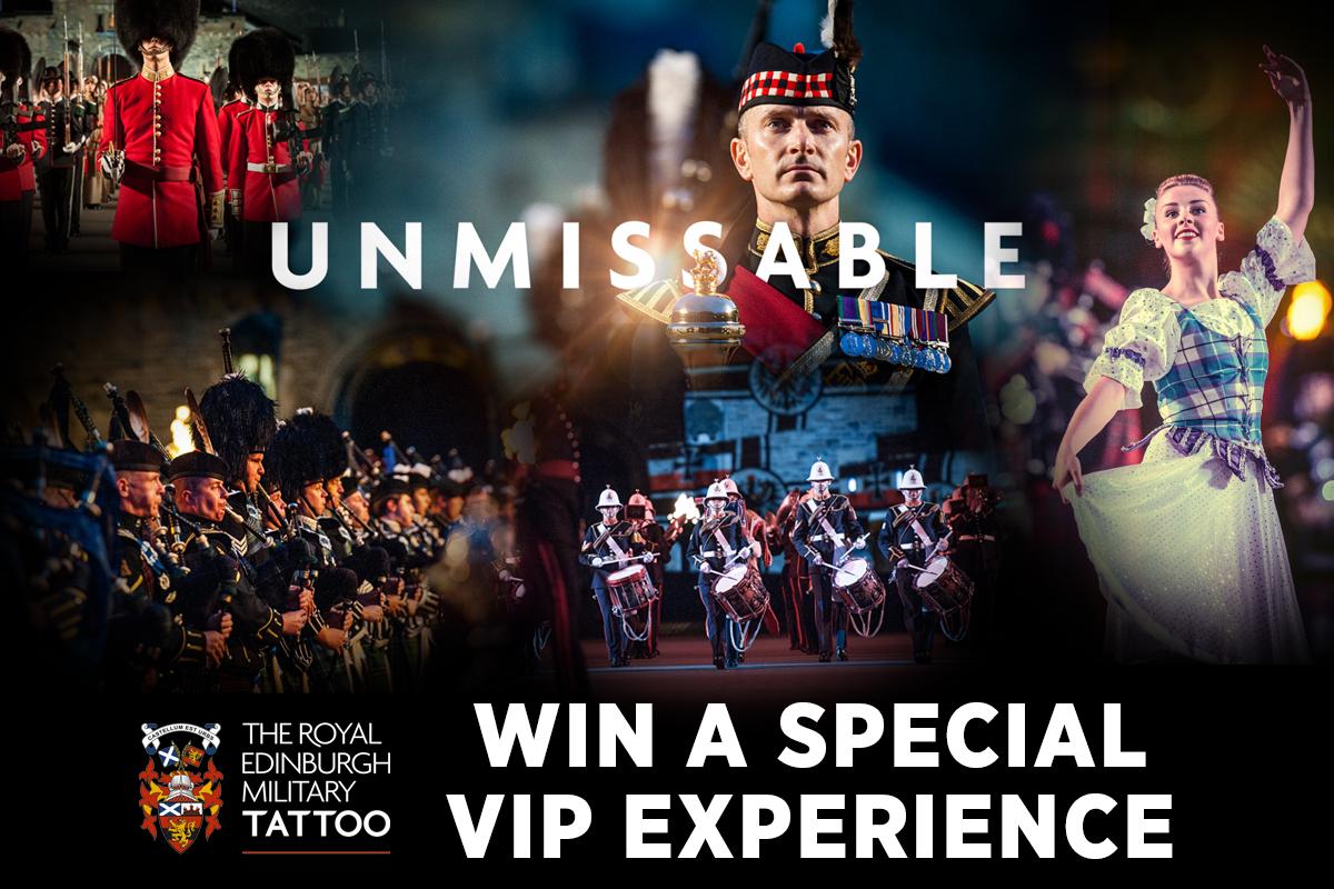 Win a VIP Experience at the Royal Edinburgh Military Tattoo!