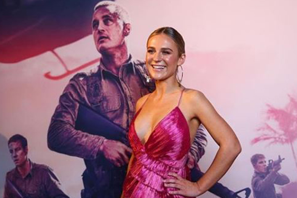 The only woman who stars in the new Australian war film