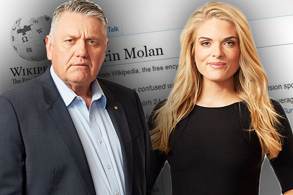 'You sneaky little devil!': Is Erin Molan the main suspect in this hilarious mishap?