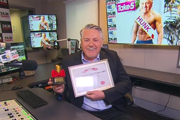 Ray Hadley named Australia's Hottest Radio Hunk… seriously