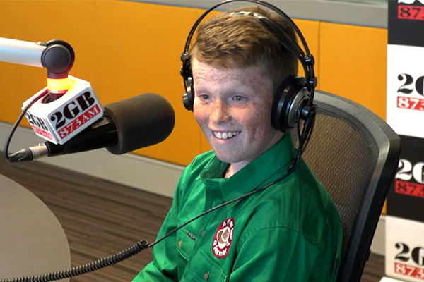 WATCH | ScoMo surprises incredible 11-year-old Jack Berne live on-air