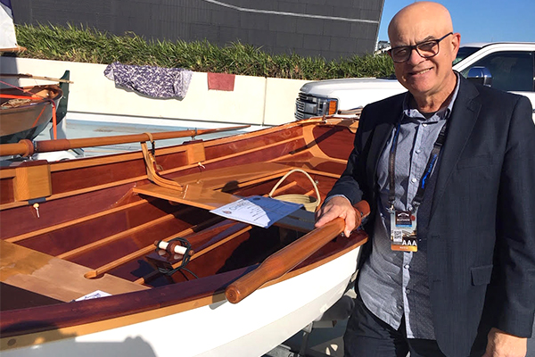 Article image for Beautiful boat handmade in a basement