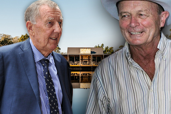 Singo and Gerry Harvey are inviting you to lunch… but it comes at a cost