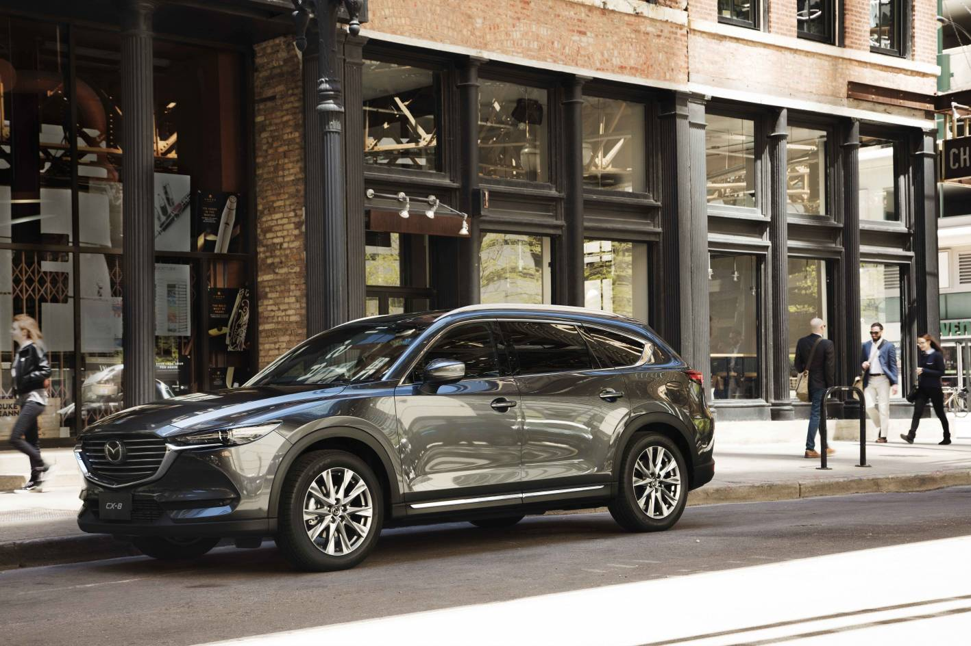 Mazda's diesel-only seven-seat CX-8 SUV updated for the 2020 model year