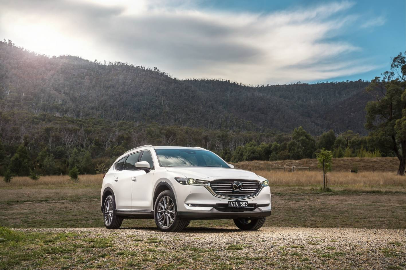 Mazda's diesel CX-8 SUV – gains minor styling updates and added specification