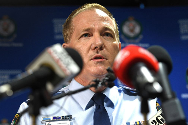 'The key question is terrorism': Police Commissioner says CBD stabber has no link 'at this stage'
