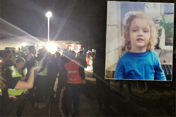 Article image for Desperate search for missing toddler ends in tragedy, Noosa