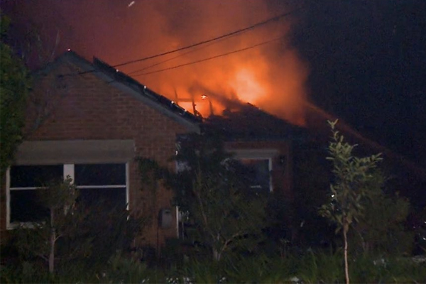 Elderly man dies, family lucky to be alive after separate fires