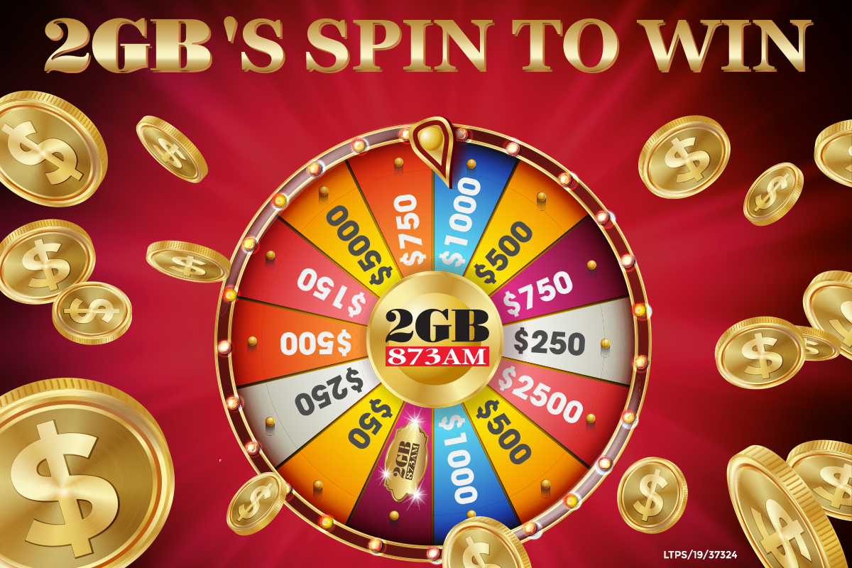 2GB's Spin to Win!