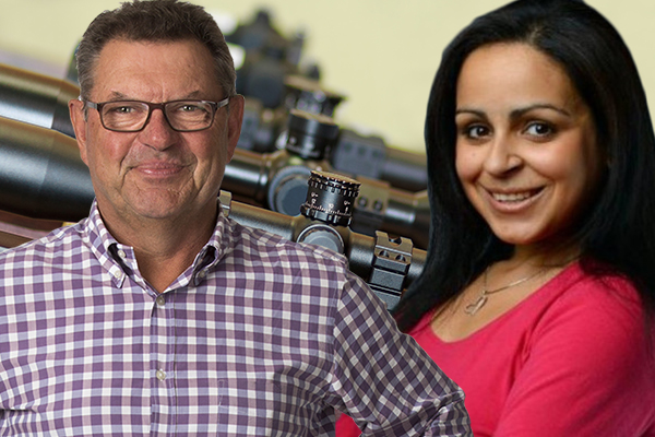 'A completely different kettle of fish': Steve Price and Rita Panahi tackle US gun law debate