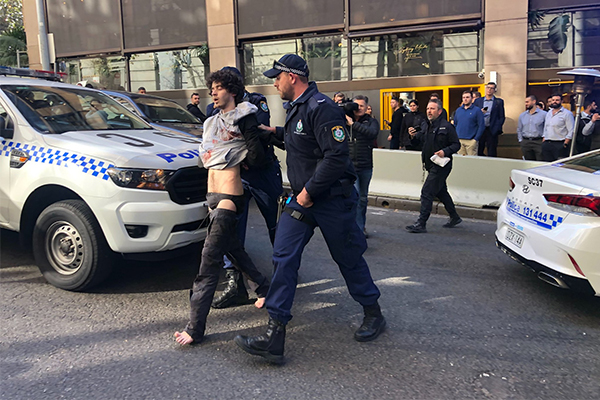 Reports of stabbing attack in Sydney's CBD
