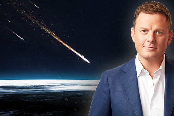 Article image for A monster asteroid is heading towards earth… so Ben Fordham chooses his last ever meal