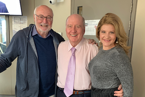 Article image for 'They called for encores!': Alan Jones reflects on his own singing career with music royalty