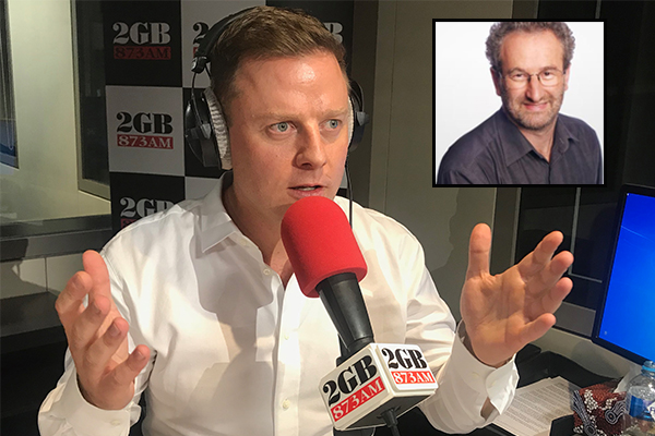 'A complete and utter knob': Ben Fordham slams ABC host