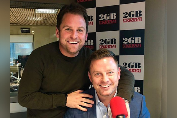 Article image for Why Ben Fordham's brother and boss will be taking a bath with live snakes